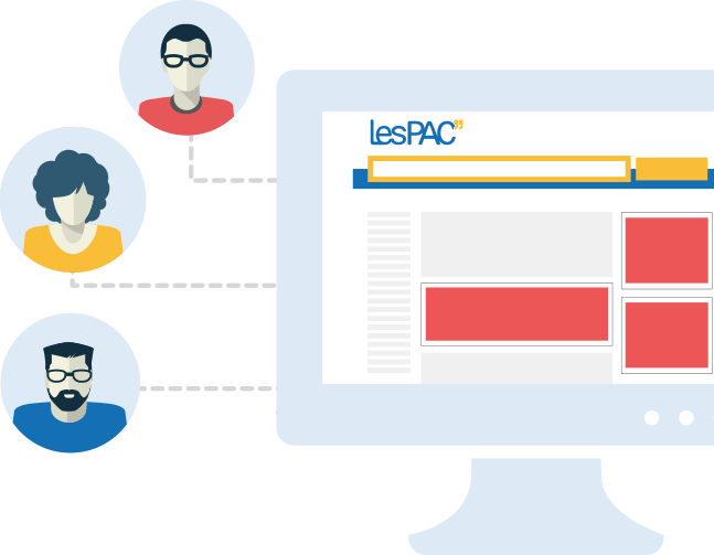 Post your ads on LesPAC